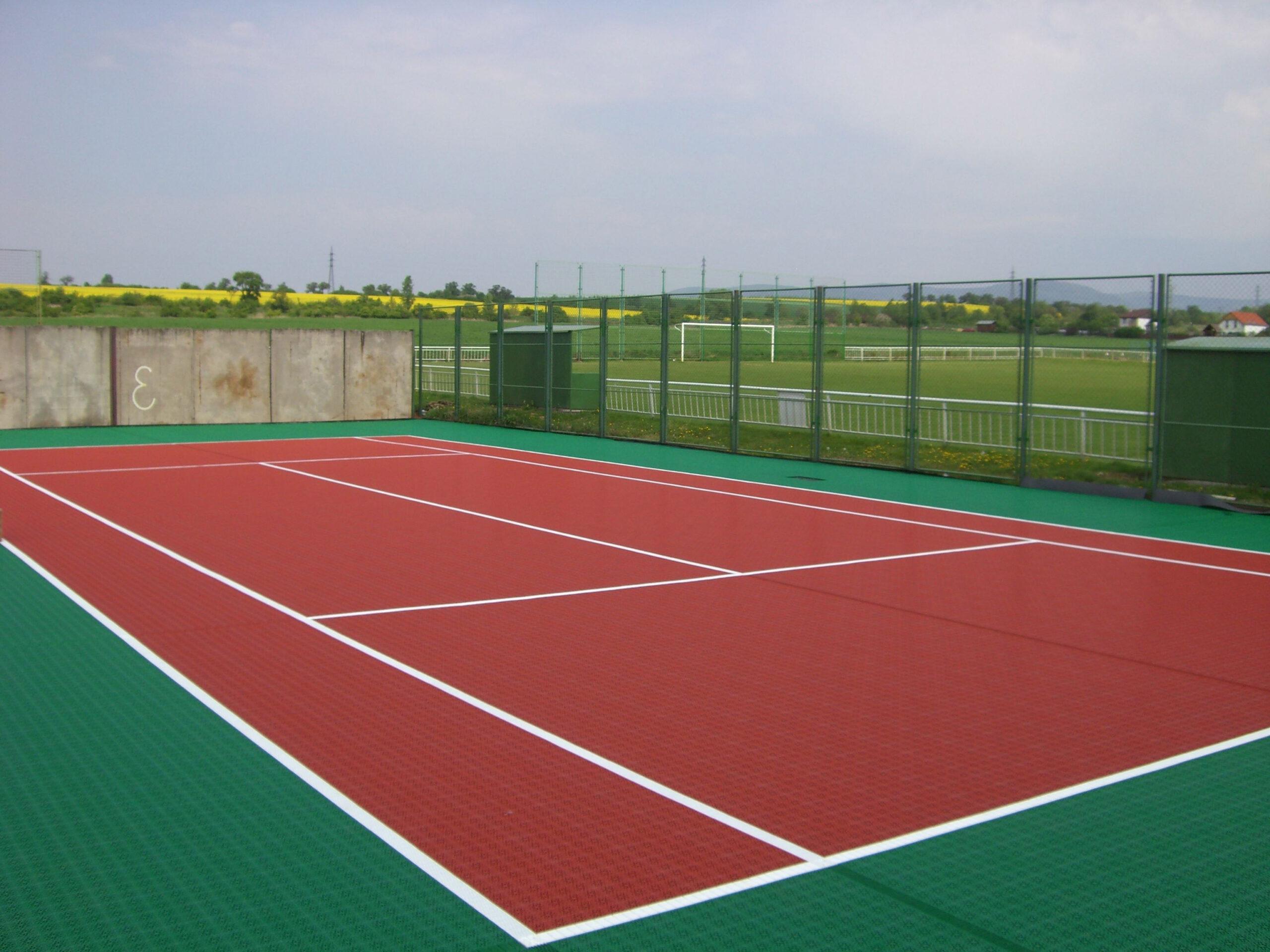 Losetas deportivas de exterior tenis c5 6