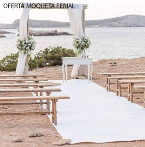 OFERTA MOQUETA PARA FERIAS Y EVENTOS