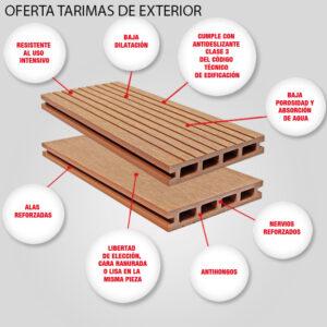 OFERTA TARIMAS DE EXTERIOR