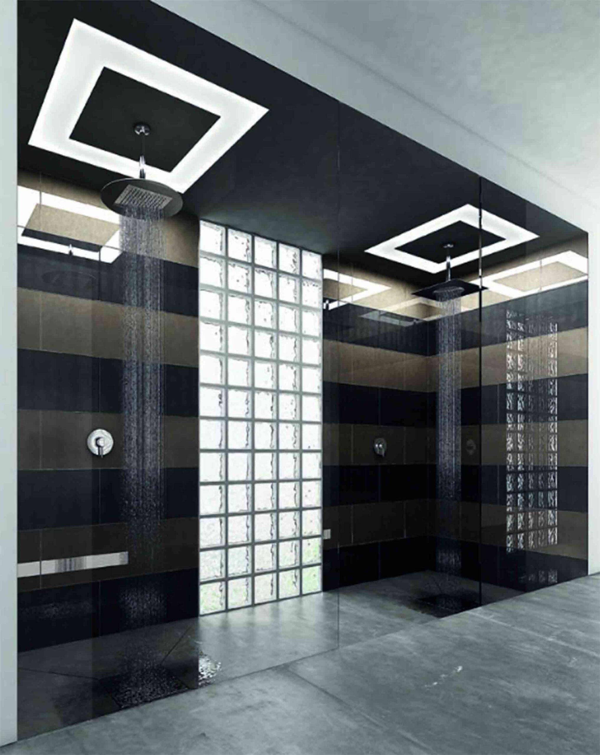 cristal envejecido ducha c5