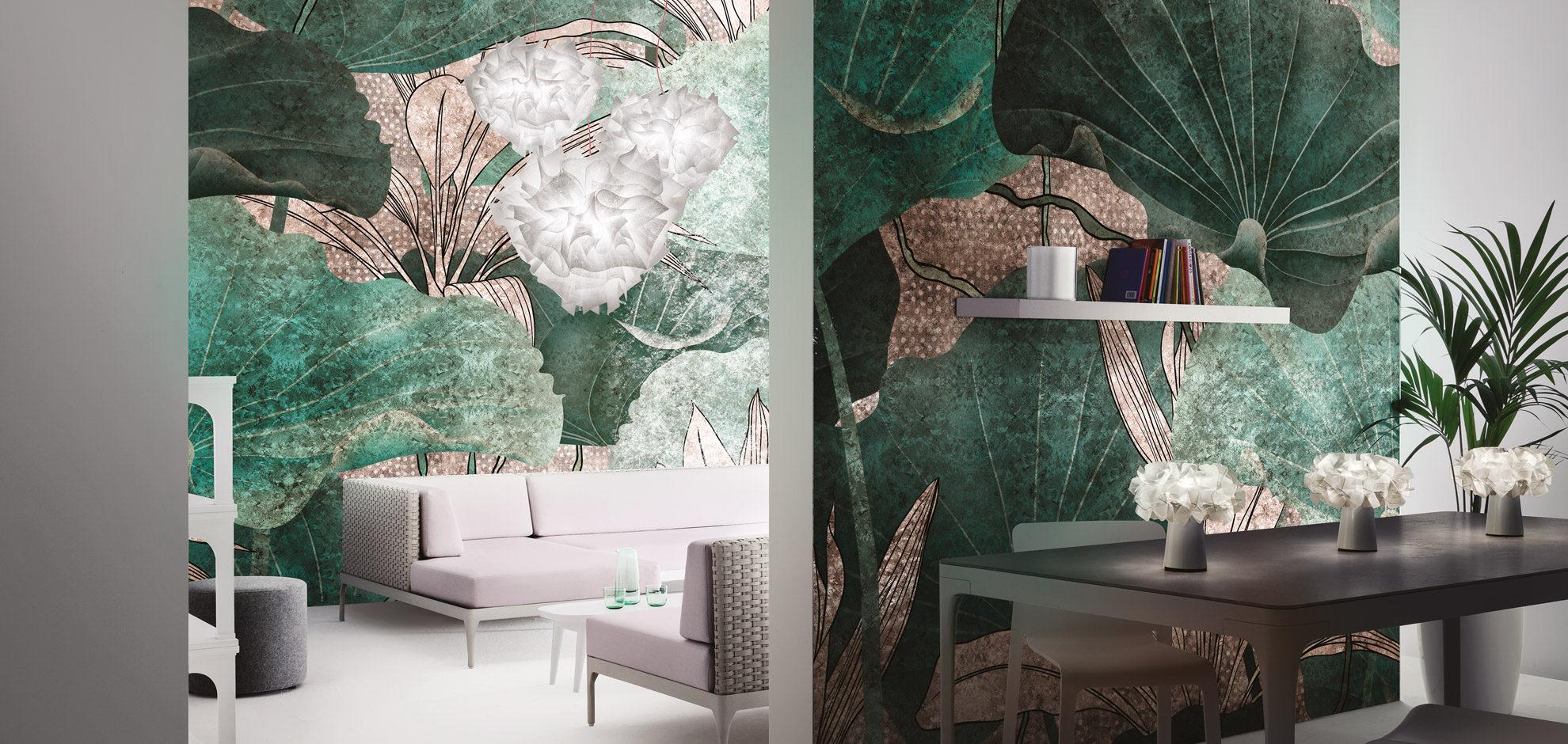 Murales artísticos decorativos a medida, vinilo o fibra de vidrio