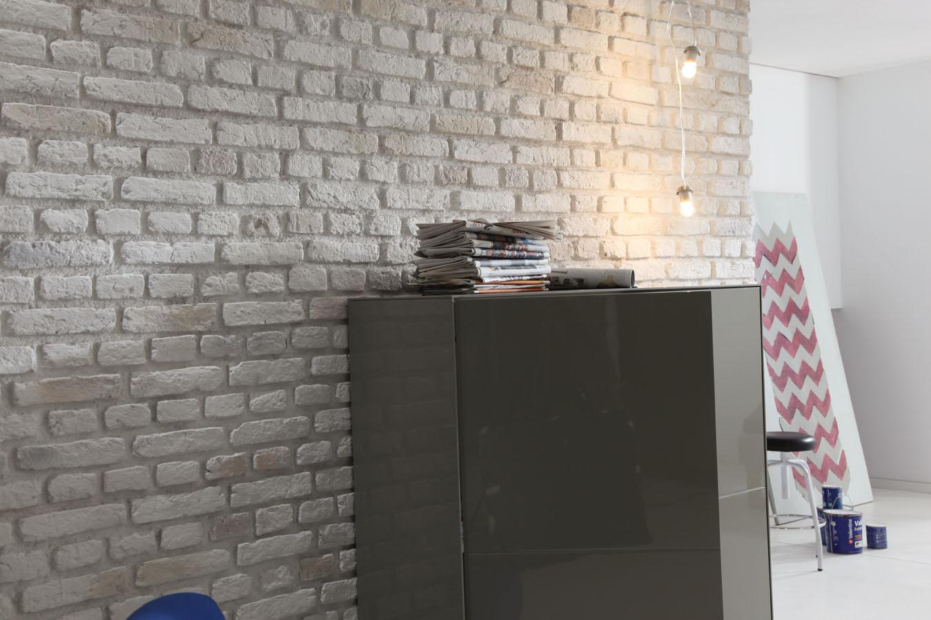 Panel decorativo efecto ladrillo