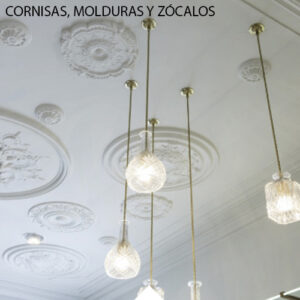 PERFILES O MOLDURAS PINTABLES