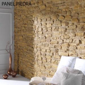 Panel decorativo acabado piedra