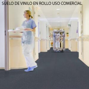 SUELO DE VINILO EN ROLLO PARA USO COMERCIAL
