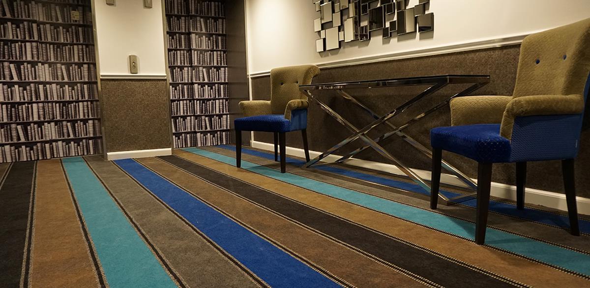Moquetas para hotel con diseños