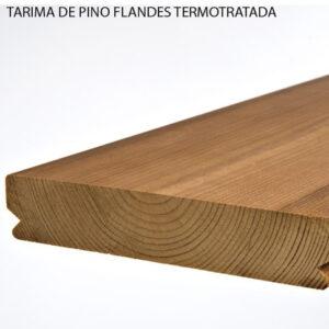Tarima de pino flandes termotratada